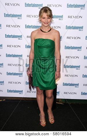 Emilie de Ravin  at Entertainment Weekly's 6th Annual Pre-Emmy Party. Beverly Hills Post Office, Beverly Hills, CA. 09-20-08