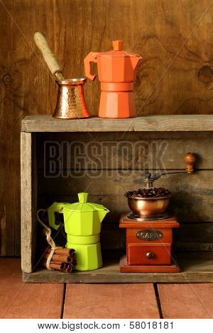 kitchen utensils for coffee