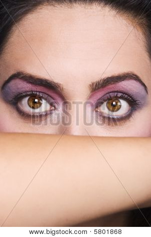 Beauty Big Woman Eyes