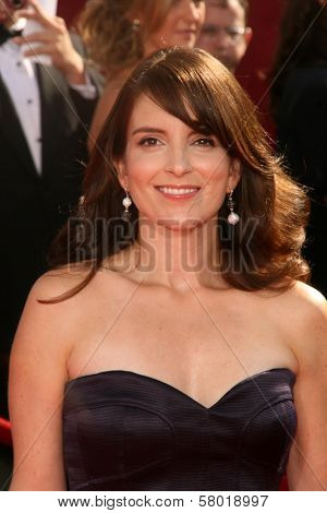 Tina Fey at the 60th Annual Primetime Emmy Awards Red Carpet. Nokia Theater, Los Angeles, CA. 09-21-08 at the 60th Annual Primetime Emmy Awards Red Carpet. Nokia Theater, Los Angeles, CA. 9-21-08