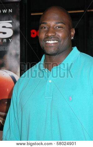 Marcellus Wiley  at the Los Angeles premiere of 'The Express'. Grauman's Chinese Theatre, Hollywood, CA. 09-25-08