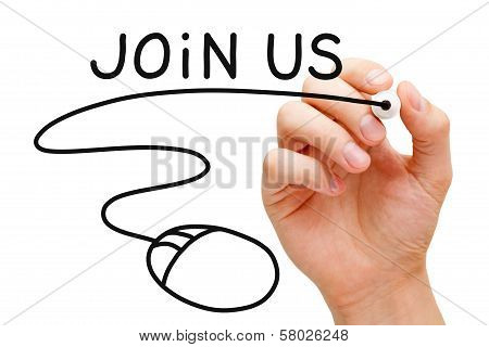 Join Us Mouse Concept