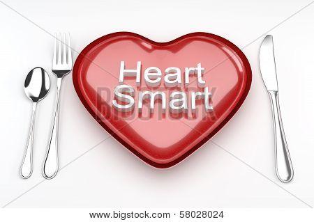 Heart smart concept