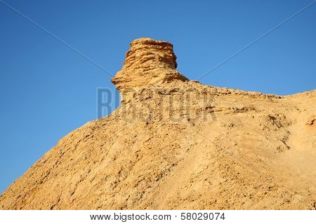 Camel Head Rock In Tunisia