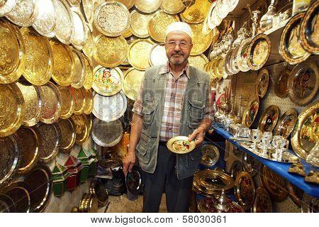 Seller In The Medina