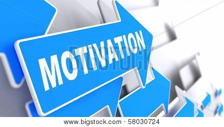 Motivation on Blue Arrow.