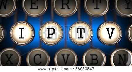 IPTV on Old Typewriter's Keys.