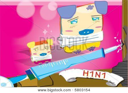 Fight Swine Flu With Vaccine