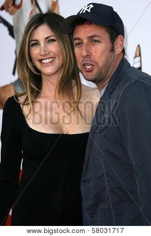 Jackie Sandler and Adam Sandler  at the