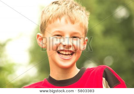 Laughing Boy Portrait