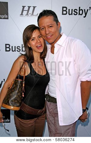 Anna Alvim and Yancy Arias  at