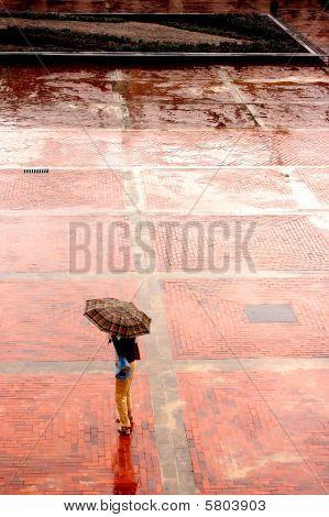 Solo en la lluvia