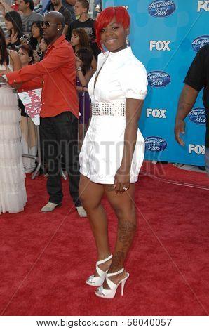 Fantasia Barrino  at the American Idol 2008 Grand Finale. Nokia Theatre, Hollwyood, CA. 05-21-08