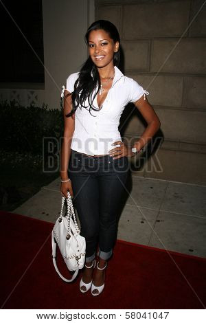Claudia Jordan  at the Summer Stars Party hosted by InTouch Weekly and ISH. Social Hollywood, Hollywood, CA. 05-22-08