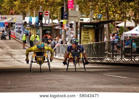 Wheelchair athletes prepare for Sydney race