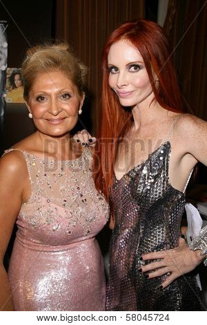 Gila Michael and Phoebe Price  at the Neuromuscular Disease Foundation Spring Gala Dinner and Casino Night. Beverly Hills Hotel, Beverly Hills, CA. 06-05-08