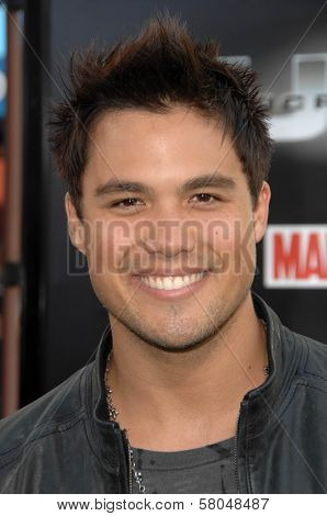 Michael Copon  at the World Premiere of