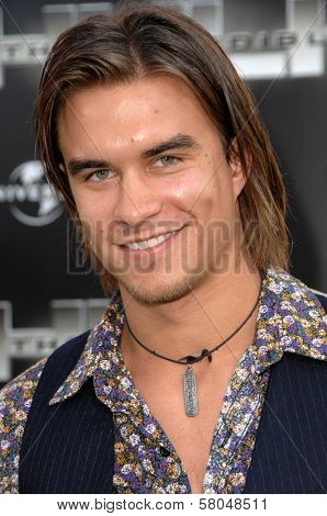 Rob Mayes  at the World Premiere of