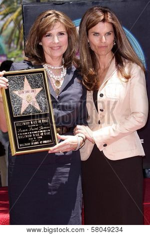 Susan Saint James and Maria Shriver  at the award ceremony honoring Susan Saint James with a star on the Hollywood Walk of Fame. Hollywood Blvd., Hollywood, CA. 06-11-08