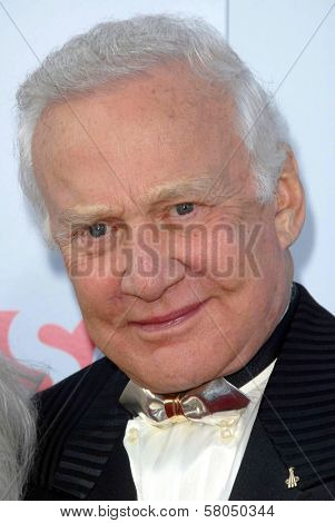 Buzz Aldrin  at the 36th AFI Lifetime Achievement Award Tribute To Warren Beatty. Kodak Theatre, Hollywood, CA. 06-12-08