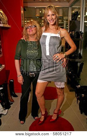 Designer Cendra Martel with Shana Sosin of the play