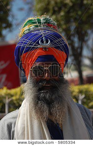 Homem com turbante