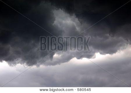 Enojado cielo
