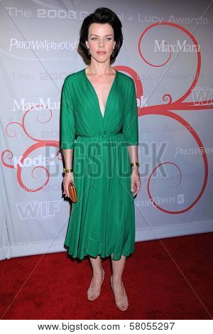 Debi Mazar  at the 2008 Crystal And Lucy Awards Gala. Beverly Hilton Hotel, Beverly HIlls, CA. 06-17-08