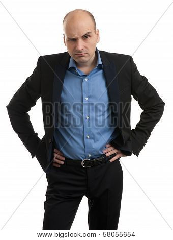 Businessman Thinking About Something