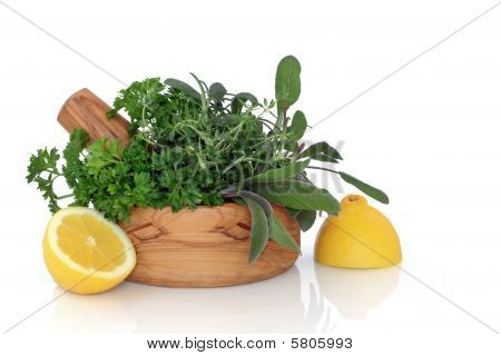 Herb and Lemon Freshness