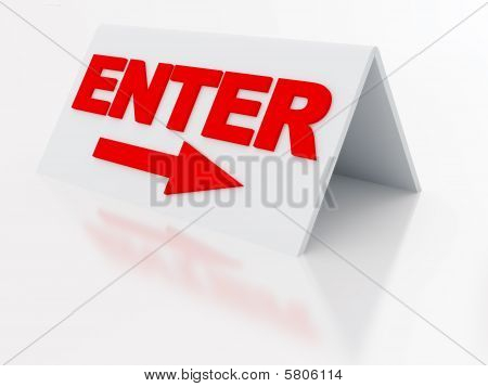 sign enter