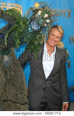 Dolph Lundgren  at the 34th Annual Saturn Awards. Universal Hilton Hotel, Universal City, CA. 06-24-08