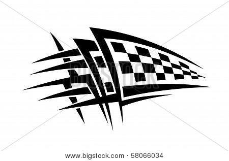 Racing tattoo
