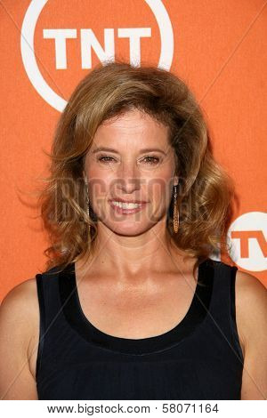 Nancy Travis  at the Turner Network's Summer 2008 TCA press Tour. Beverly Hilton Hotel, Beverly Hills, CA. 07-11-08