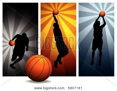 Vector Basketball Players