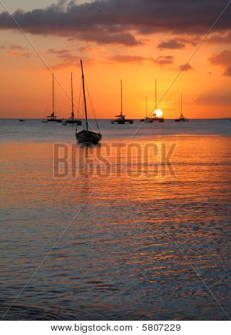sunscape puesta del sol
