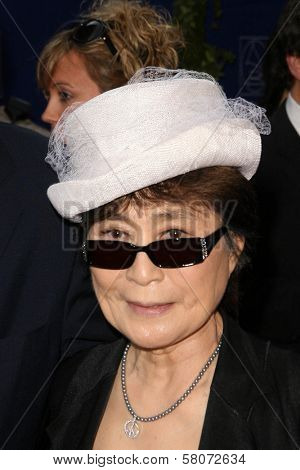 Yoko Ono  at the Grammy Foundation's Starry Night Gala. University of Southern California, Los Angeles, CA. 07-12-08
