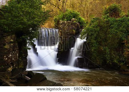 Penllergaer Waterfall, Swansea