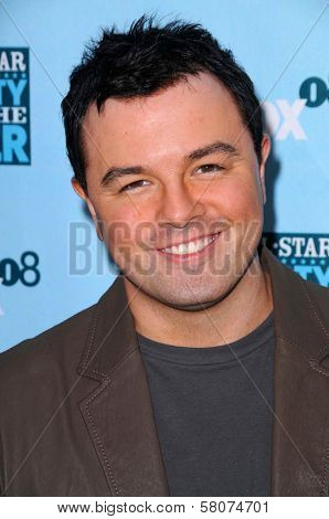 Seth MacFarlane  at the FOX All Star Party. Santa Monica Pier, Santa Monica, CA. 07-14-08