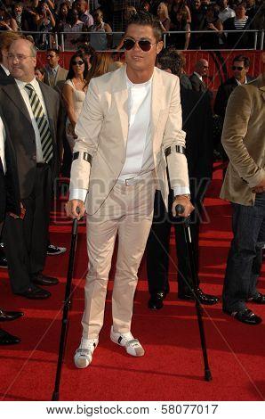 Cristiano Ronaldo  at the 2008 ESPY Awards. Nokia Theatre, Los Angeles, CA. 07-16-08
