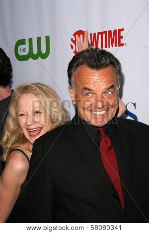 Ray Wise and wife Kass  at the CBS, CW and Showtime Press Tour Stars Party, Boulevard3, Hollywood, CA. 07-18-08