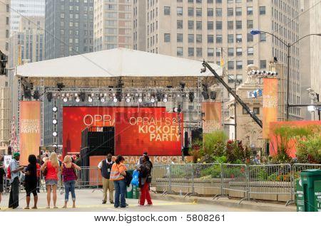 Oprah Kickoff Setup