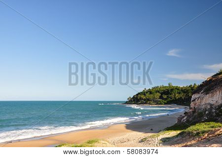 Beach of Pipa, Rio Grande do Norte, Natal (Brazil)