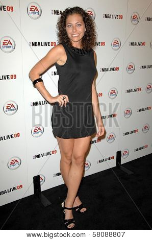 Corrine Kaplan  at the Launch Party for NBA Live 09. Beso, Hollywood, CA. 09-26-08