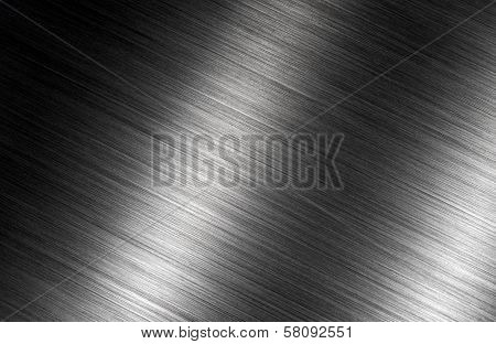 brushed metal dark shadows background