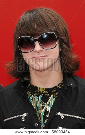 Mitchel Musso at the 'Power Of Youth' event benefitting St. Jude. L.A. Live, Los Angele, CA. 10-04-08 at the