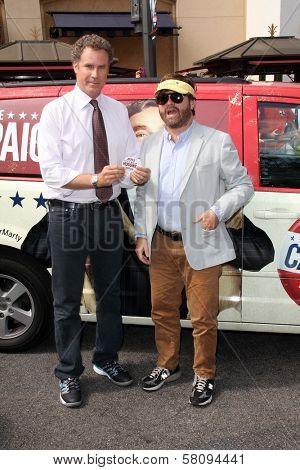 Will Ferrell, Zach Galifianakis at