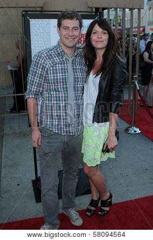 Mark Duplass and Katie Aselton at the
