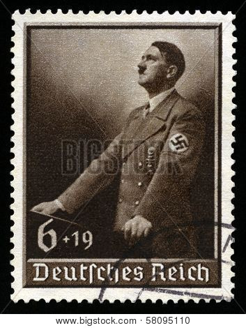 Vintage 1939 German Reich Stamp