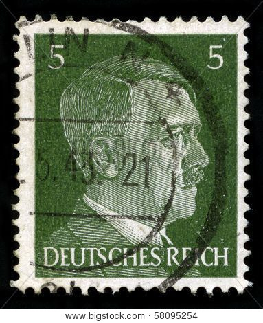 German Reich Postage Stamp From 1941